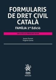 Formularis de Dret civil català